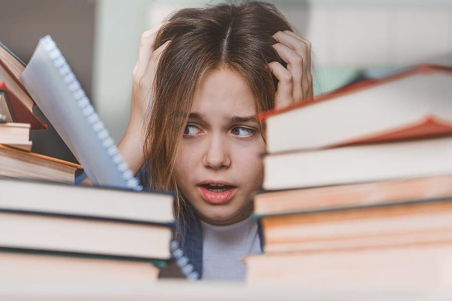 לחץ בעת מבחנים אצל בני נוער בתקופת קורונה